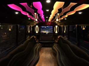 Sacramento Party Bus Interiors