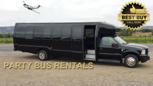 Rent a Sacramento Party Bus